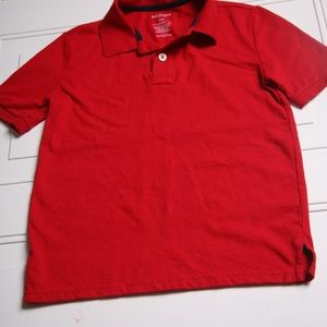 Old Navy Polo Dress Shirt Red